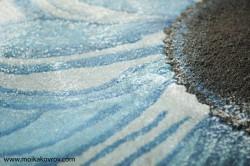 Технология и этапы полуавтоматической  чистки ковров (мойки ковров) с применением большого количества холодной воды